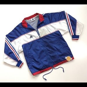 VINTAGE 90s ADIDAS WINDBREAKER JACKET SMALL S MENS